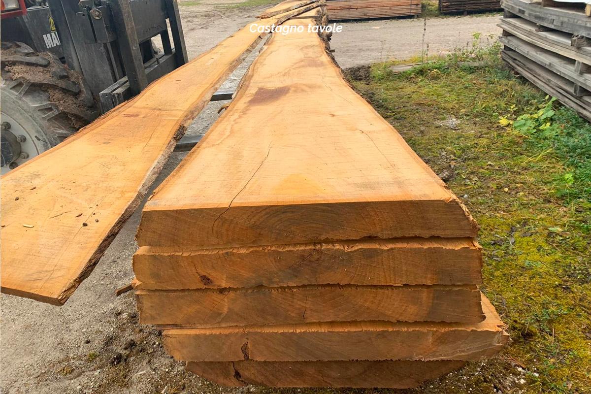Castagno - Calligaro Legnami industria e commercio legnami